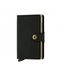 MINIWALLET CRISPLE BLACK GOLD