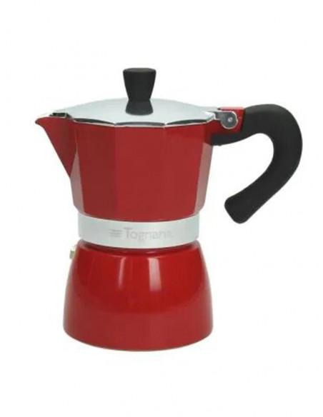Cafetera per 6 Tasses Grancucina Red, Tognana V4430064746