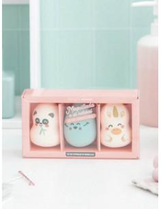 Set 3 esponjes de maquillatge | Mr. Wonderful