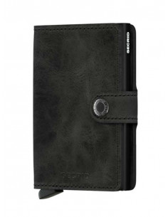 Miniwallet Vintage Black | Secrid