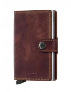 Miniwallet Vintage Brown | Secrid