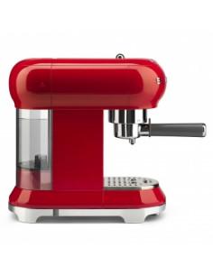Cafetera espresso 50' style vermella