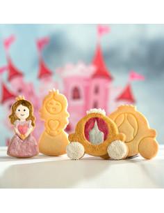 Pack talladors de galetes Princesa | Decora