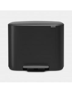 Cubell de pedal Bo 3x11L Matt Black | Brabantia