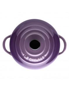 Mini cocottte gres 10 cm color ultravioleta Le Creuset